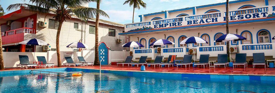 Allasalue, Empire Beach Resort, Goa, Intia.