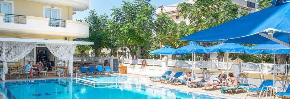 Allasalue, hotelli Erato, Kosin kaupunki.