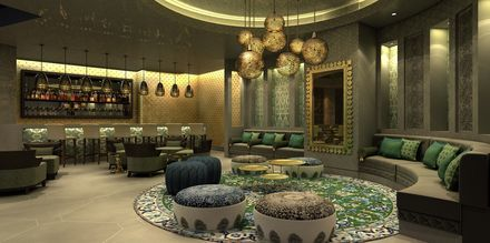 Baari, hotelli Fairmont Ajman. Ajman, Arabiemiraatit.