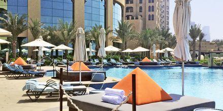 Allasalue hotellilla Fairmont Ajman. Ajman, Arabiemiraatit.