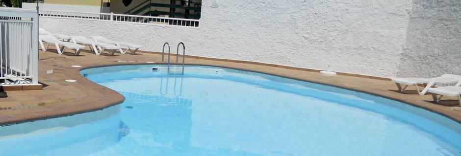 Hotelli Faisan. Playa del Inglés, Gran Canaria.