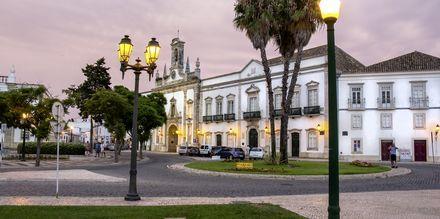Faro, Portugal ilta-aikaan.