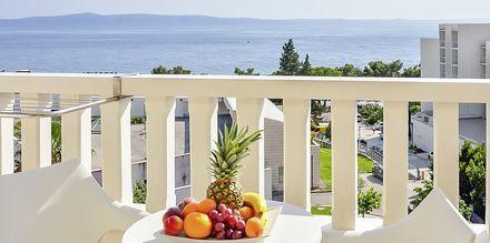 Maiema hotellista, Hotelli Flora, Tucepi, Kroatia.