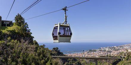 Köysihissi Funchalissa, Madeira.