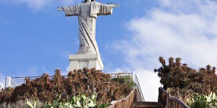 Jeesuspatsas Funchalissa, Madeira.