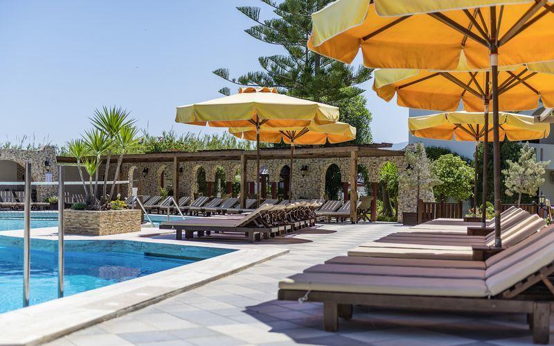 Uima-allas. Hotelli Gaia Garden, Kos.