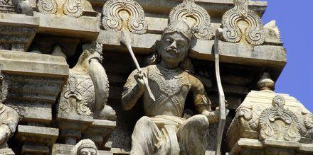 Hindu temppeli Gopuram.