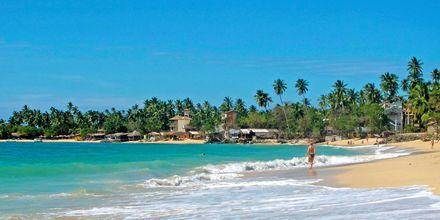 Unawatuna Beach Gallen ulkopuolella Sri Lankassa.