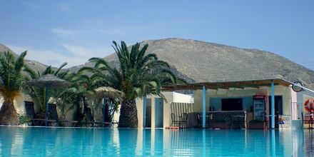 Allas. Hotelli Gardenia, Santorini, Kreikka.
