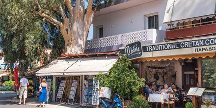 Maistele perinteisiä kreikkalaisia annoksia.