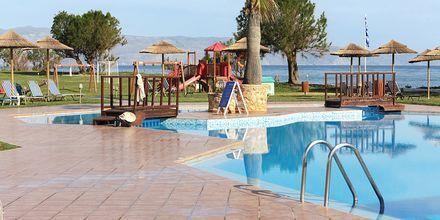 Allas ja leikkipaikka. Hotelli Geraniotis Beach, Platanias, Kreeta.