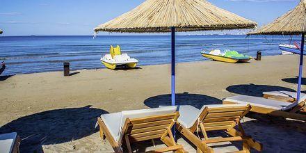 Läheinen ranta. Germany Hotel, Durresin Riviera, Albania.