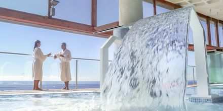 Sisäuima-allas/spa. Hotelli Gloria Palace Amadores Thalasso & Hotel, Gran Canaria.