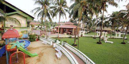 Leikkipaikka, Goan Heritage, Pohjoi-Goa, Intia.