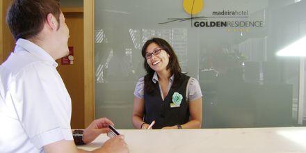 Aulabaari. Hotelli Golden Residence, Madeira.