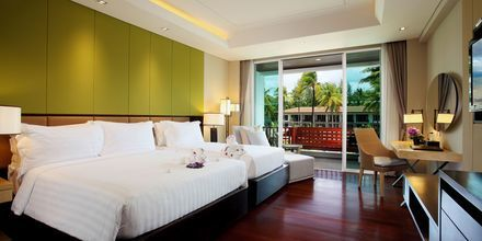 Deluxe-huone, Graceland Khao Lak Resort, Thaimaa.