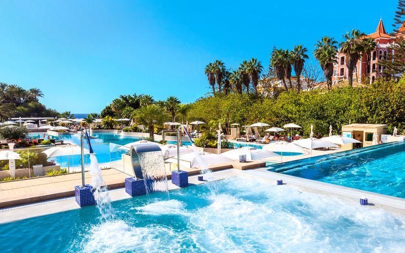 Allasalue. Hotelli Gran Tacande Wellness & Relax, Teneriffa.