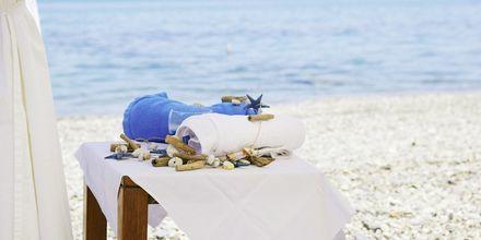 Hierontaa rannalla, hotelli Grand Bay Beach Resort, Kreeta, Kreikka.