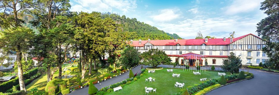 Hotelli Grand Hotel, Nuwara Eliya, Sri Lanka.