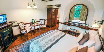 Kahden hengen huone, Hotelli Grand Hotel, Nuwara Eliya, Sri Lanka.