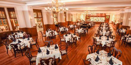Ravintola, Hotelli Grand Hotel, Nuwara Eliya, Sri Lanka.