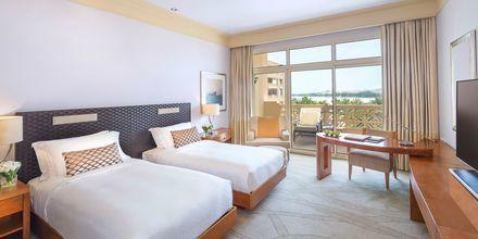Deluxe-huone. Hotelli Grand Hyatt, Doha, Qatar.