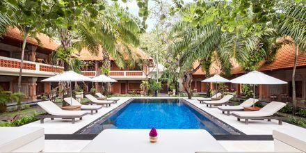 Allas, hotelli Griya Santrian. Sanur, Bali.