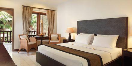Kahden hengen huone, hotelli Griya Santrian. Sanur, Bali.