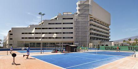 Tennistä, Hotelli H10 Conquistador, Playa de las Americas, Teneriffa.