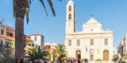 Kirkko. Hanian kaupunki, Kreeta, Kreikka.