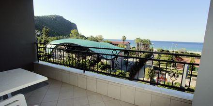 Näkymä kaksiosta, hotelli Havana Apart. Alanya, Turkki.