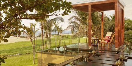 Hotellialue, Hotelli Heritance Negombo, Sri Lanka.