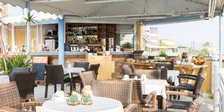 Ravintola, Hotelli Hermes, Kato Stalos, Kreeta.
