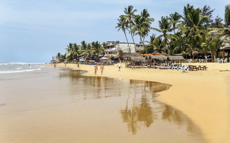 Hikkaduwa Beach, Sri Lanka.