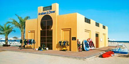 Sukelluskeskus, hotelli Hilton Ras Al Khaimah Resort & Spa, Ras al Khaimah.