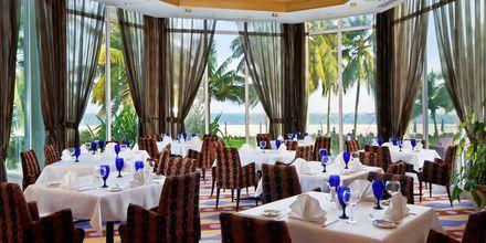 Ravintola Shebas, hotelli Hilton Salalah Resort. Oman.