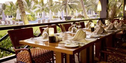 Ravintola Palm Cove, hotelli Hilton Salalah Resort. Oman.