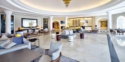 Vastaanotto, hotelli Hilton Salalah Resort. Oman.