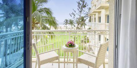 Parveke, hotelli Hilton Salalah Resort. Oman.
