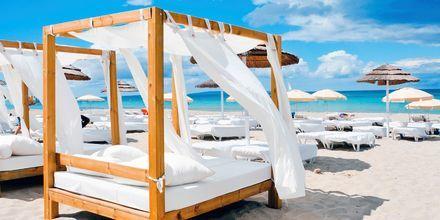 Ibiza on tunnettu kauniista rannoistaan, yöelämästään ja kirkkaasta vedestään.