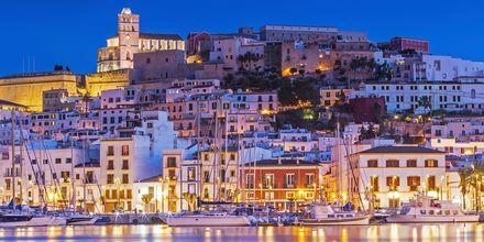 Ibiza illalla – uskomaton näky.