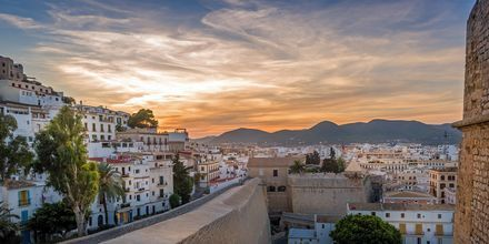 Dalt Vila, Ibizan vanha kaupunki.