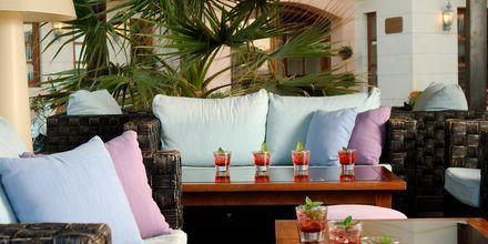 Lounge, Hotelli Ideon, Rethymnonin kaupunki, Kreeta, Kreikka.