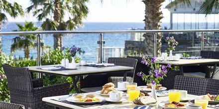 Aamiaista, Hotelli Ikaros Beach Resort & Spa, Kreeta, Kreikka.