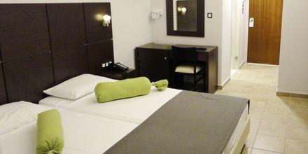 Kahden hengen huone. Hotelli Imperial, Kos, Kreikka.