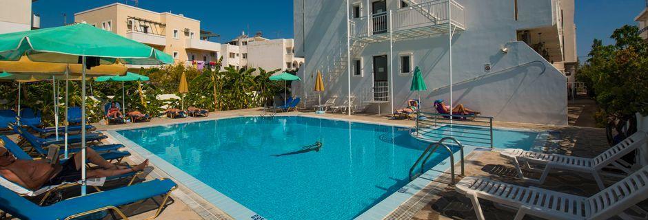 Allas. Hotelli International, Kos, Kreikka.