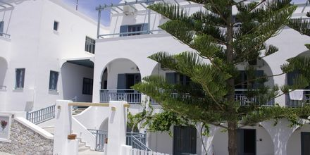 Hotelli Iris, Kamari, Santorini.