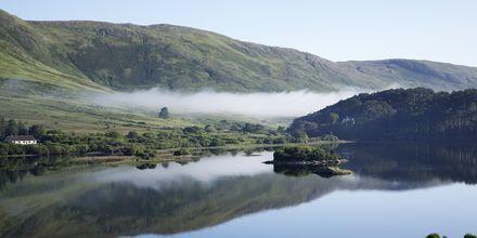 Upea Connemaran kansallispuisto Irlannissa.