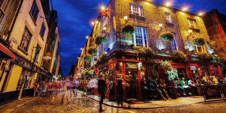 Temple Bar on alue Dublinissa, joka on tunnettu ihanista, pienistä pubeistaan.