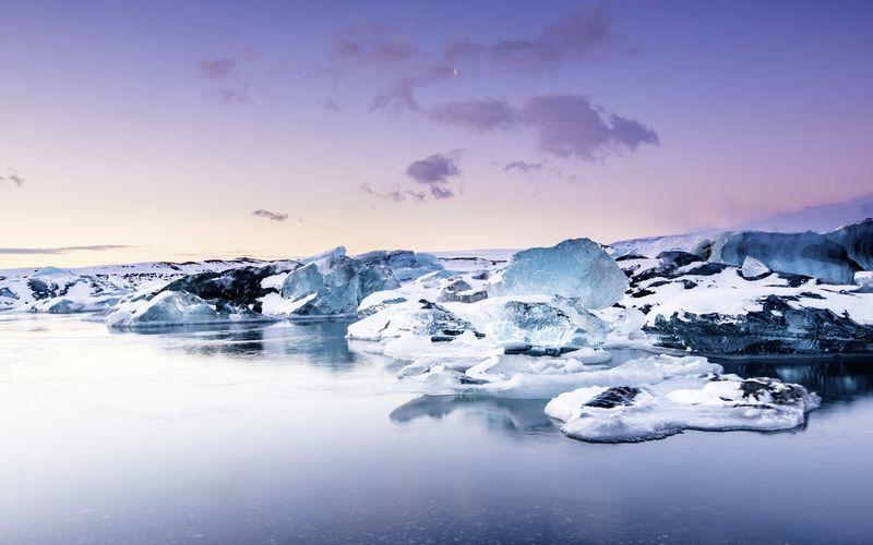Jökulsarlon, Islanti.